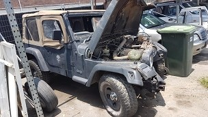 1997 Jeep TJ Wrangler 4.0ltr Manual Soft Top - Currently Wrecking